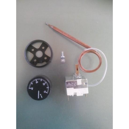 Civciv büyütücüler için4-40 derece mekanik termostat